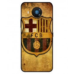 Durable FC Barcelona Cover For Nokia 8.3 5G