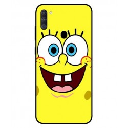 Durable SpongeBob Cover For Samsung Galaxy A11