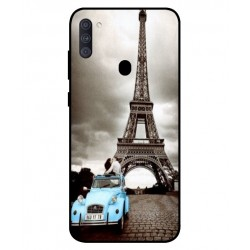 Durable Paris Eiffel Tower Cover For Samsung Galaxy A11
