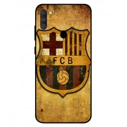 Durable FC Barcelona Cover For Samsung Galaxy A11