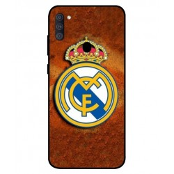 Durable Real Madrid Cover For Samsung Galaxy A11