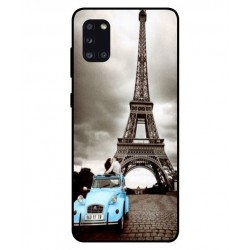 Durable Paris Eiffel Tower Cover For Samsung Galaxy A31
