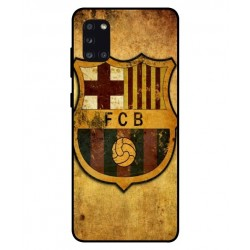 Durable FC Barcelona Cover For Samsung Galaxy A31