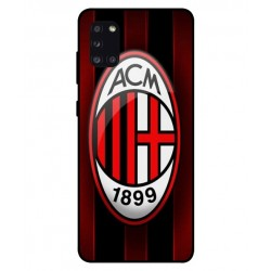 Durable AC Milan Cover For Samsung Galaxy A31
