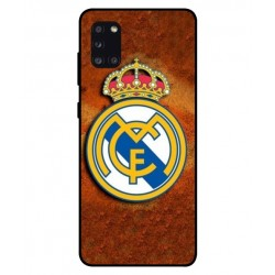 Durable Real Madrid Cover For Samsung Galaxy A31