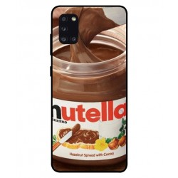 Durable Nutella Cover For Samsung Galaxy A31