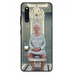 Durable Queen Elizabeth On The Toilet Cover For Samsung Galaxy A41