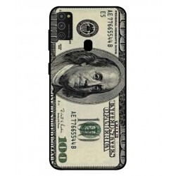 Durable 100 Dollar Note Cover For Samsung Galaxy M21