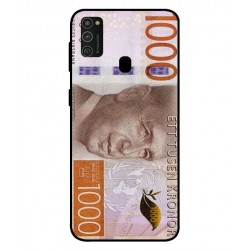 Durable 1000Kr Sweden Note Cover For Samsung Galaxy M21
