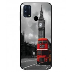 Durable London Cover For Samsung Galaxy M31