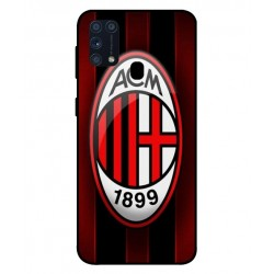 Durable AC Milan Cover For Samsung Galaxy M31