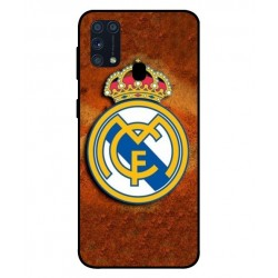 Durable Real Madrid Cover For Samsung Galaxy M31