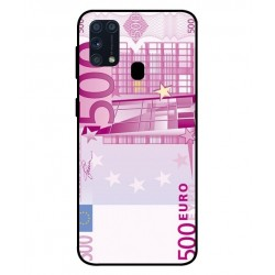 Durable 500 Euro Note Cover For Samsung Galaxy M31