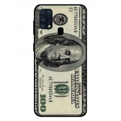 Durable 100 Dollar Note Cover For Samsung Galaxy M31