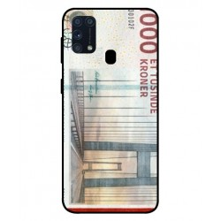 1000 Danish Kroner Note Cover For Samsung Galaxy M31