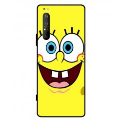 Durable SpongeBob Cover For Sony Xperia 1 II
