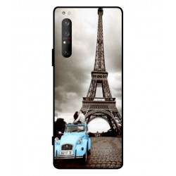 Durable Paris Eiffel Tower Cover For Sony Xperia 1 II