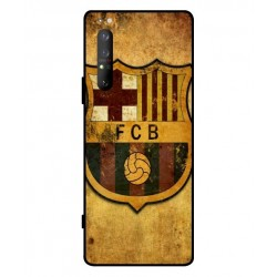 Durable FC Barcelona Cover For Sony Xperia 1 II
