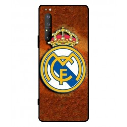 Durable Real Madrid Cover For Sony Xperia 1 II