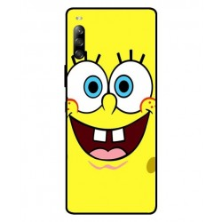 Durable SpongeBob Cover For Sony Xperia 10 II
