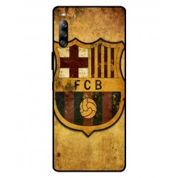 Durable FC Barcelona Cover For Sony Xperia 10 II