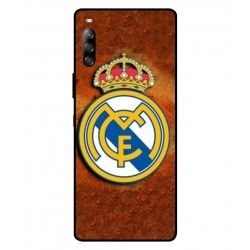 Durable Real Madrid Cover For Sony Xperia 10 II