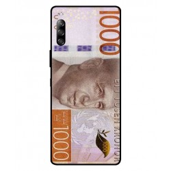 Durable 1000Kr Sweden Note Cover For Sony Xperia 10 II