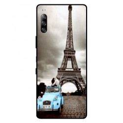 Durable Paris Eiffel Tower Cover For Sony Xperia L4