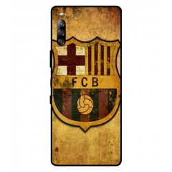Durable FC Barcelona Cover For Sony Xperia L4