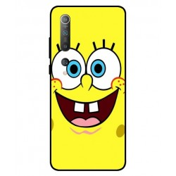 Durable SpongeBob Cover For Xiaomi Mi 10 5G