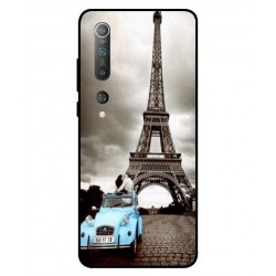 Durable Paris Eiffel Tower Cover For Xiaomi Mi 10 5G