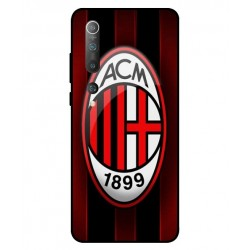 Durable AC Milan Cover For Xiaomi Mi 10 5G