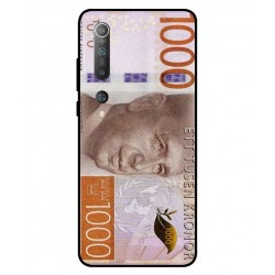 Durable 1000Kr Sweden Note Cover For Xiaomi Mi 10 5G