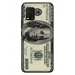 Durable 100 Dollar Note Cover For Xiaomi Mi 10 Lite 5G