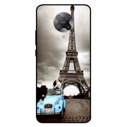 Durable Paris Eiffel Tower Cover For Xiaomi Redmi K30 Pro