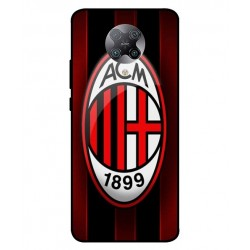 Durable AC Milan Cover For Xiaomi Redmi K30 Pro