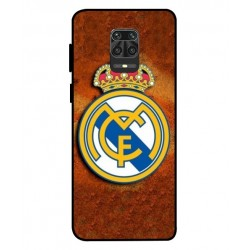 Durable Real Madrid Cover For Xiaomi Redmi Note 9 Pro