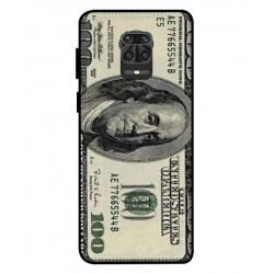 Durable 100 Dollar Note Cover For Xiaomi Redmi Note 9 Pro
