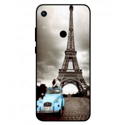 Durable Paris Eiffel Tower Cover For Huawei Honor 8A 2020
