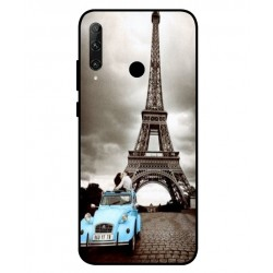 Durable Paris Eiffel Tower Cover For Huawei Honor 20e