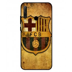 Durable FC Barcelona Cover For Huawei Honor 20e