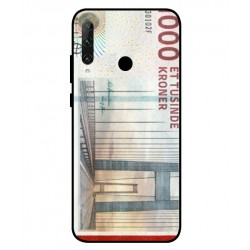 1000 Danish Kroner Note Cover For Huawei Honor 20e