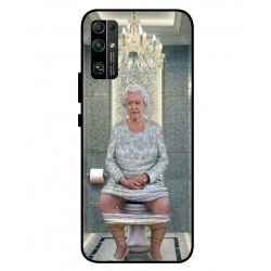 Durable Queen Elizabeth On The Toilet Cover For Huawei Honor 30
