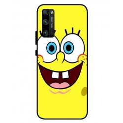 Durable SpongeBob Cover For Huawei Honor 30 Pro