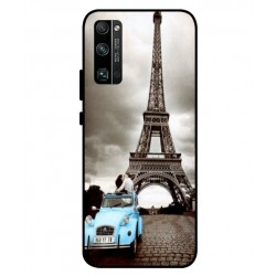 Durable Paris Eiffel Tower Cover For Huawei Honor 30 Pro
