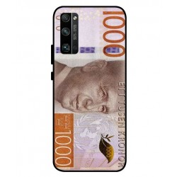 Durable 1000Kr Sweden Note Cover For Huawei Honor 30 Pro