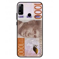 Durable 1000Kr Sweden Note Cover For Huawei Honor Play 4T