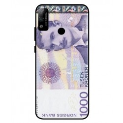 1000 Norwegian Kroner Note Cover For Huawei Honor Play 4T