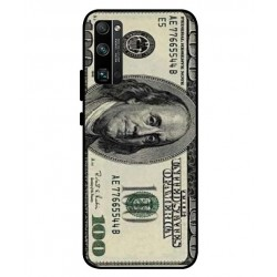 Durable 100 Dollar Note Cover For Huawei Honor 30 Pro Plus