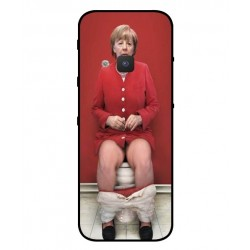 Durable Angela Merkel On The Toilet Cover For Nokia 5310 2020